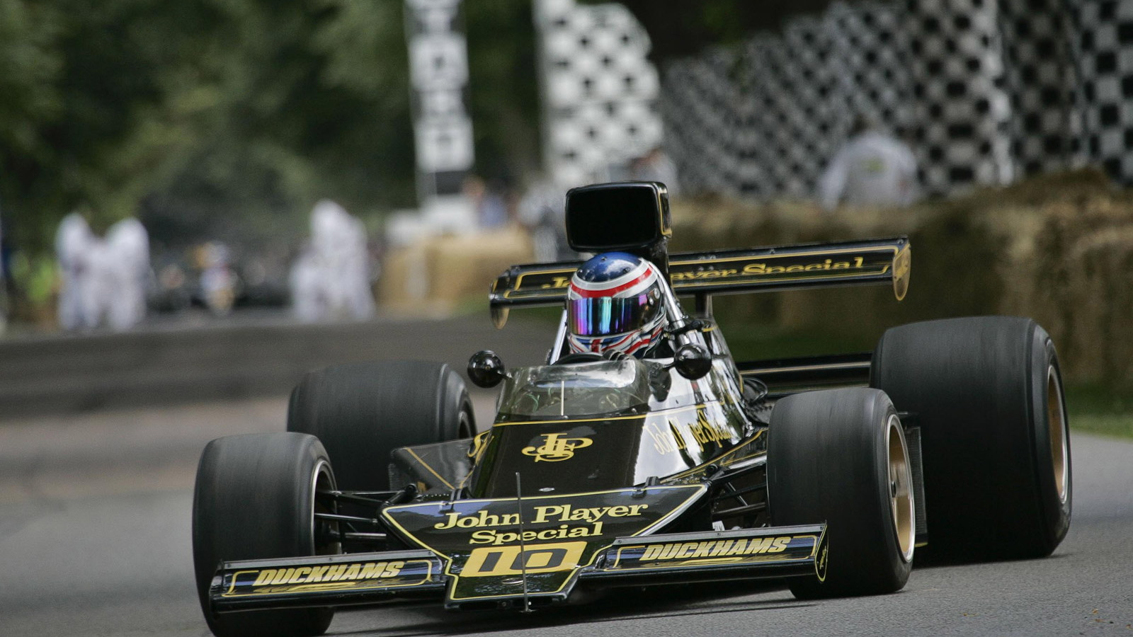 Lotus at previous Goodwood Festival of Speed events