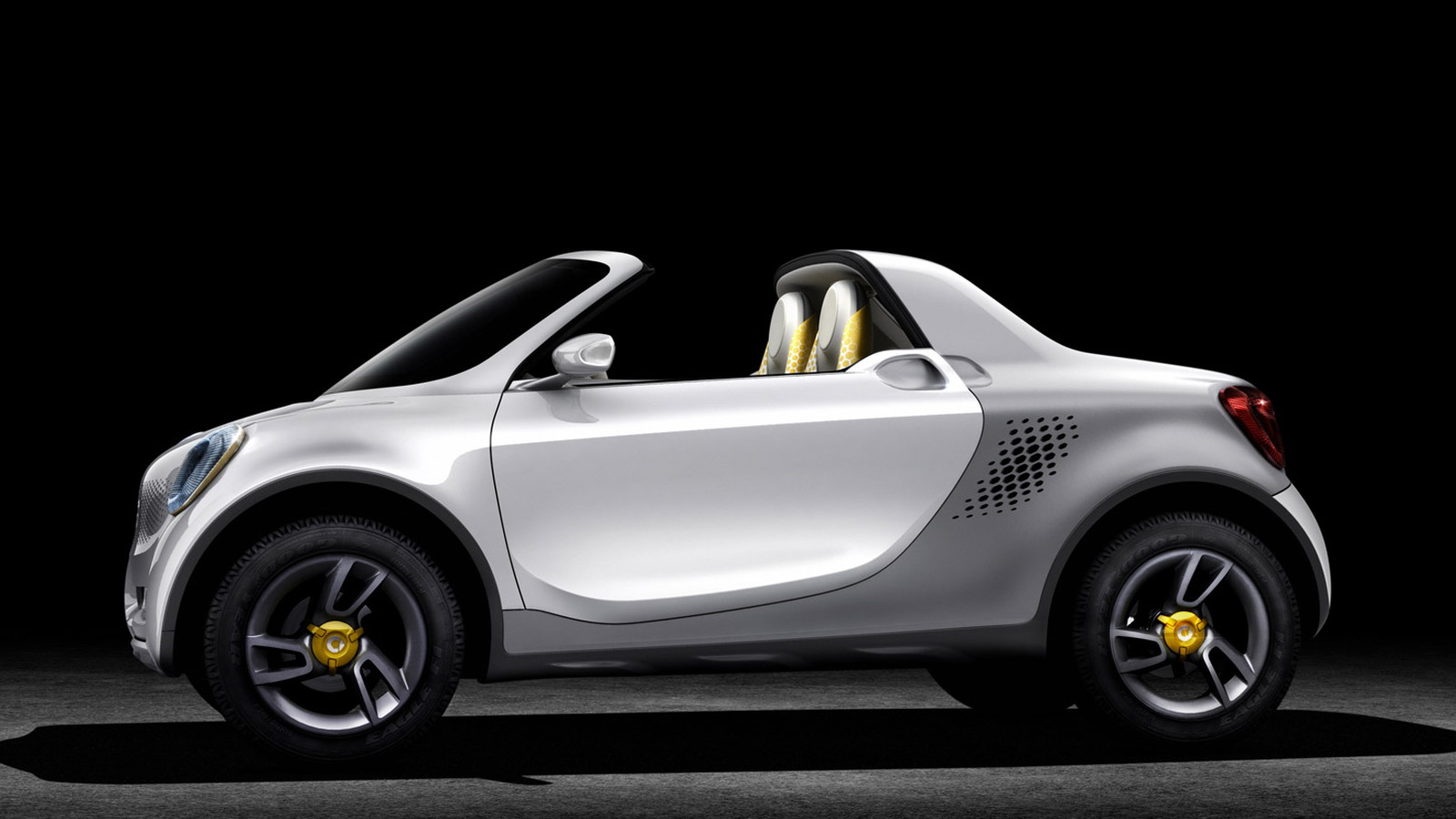 2012 Smart For-Us electric urban pickup concept