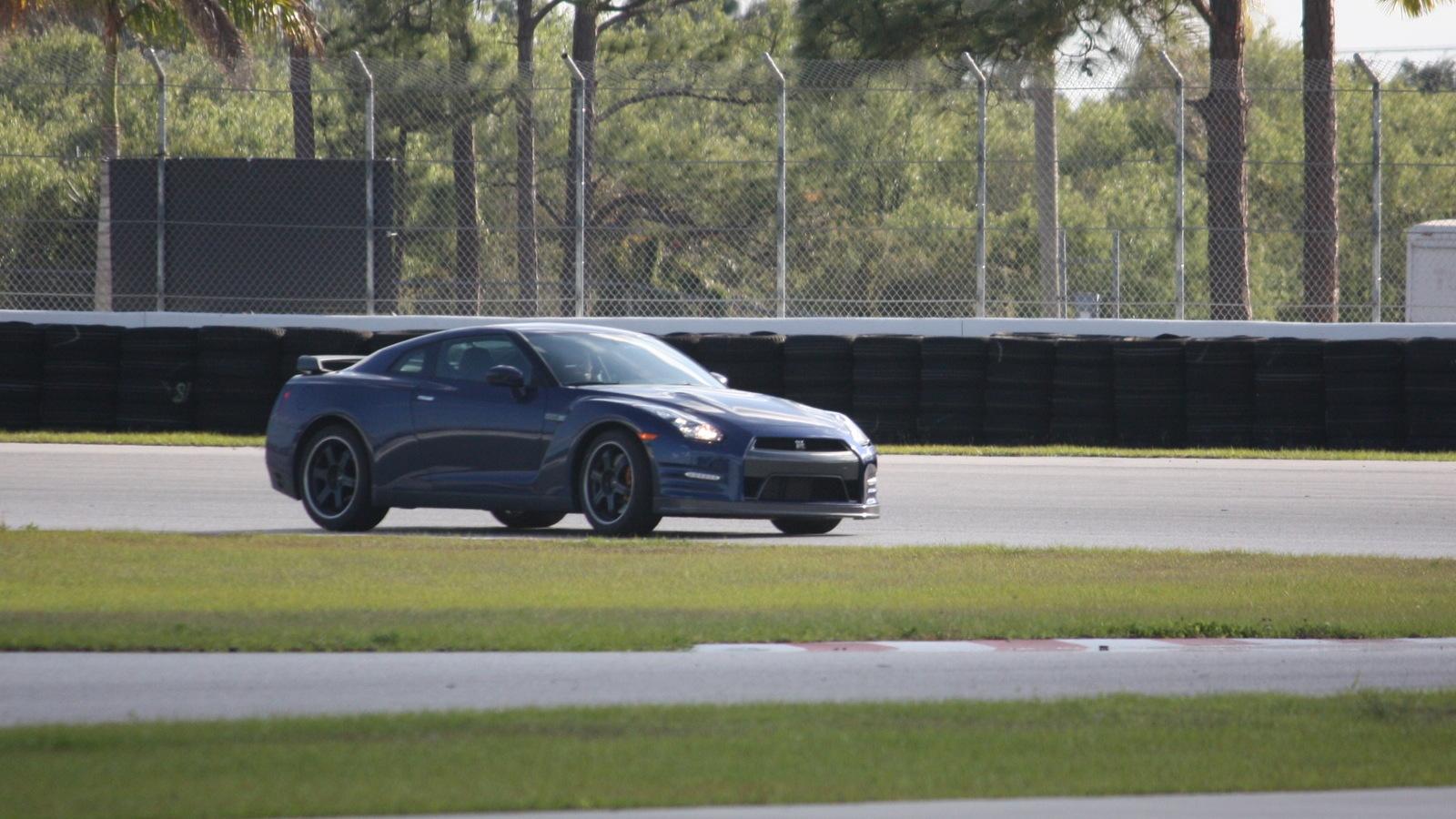 The 2013 Nissan GT-R at Palm Beach International Raceway