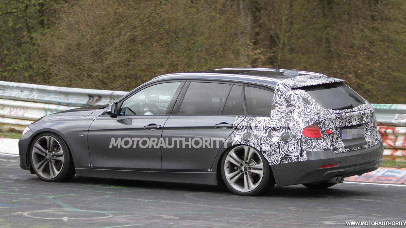 2013 BMW 3-Series Touring wagon spy shots