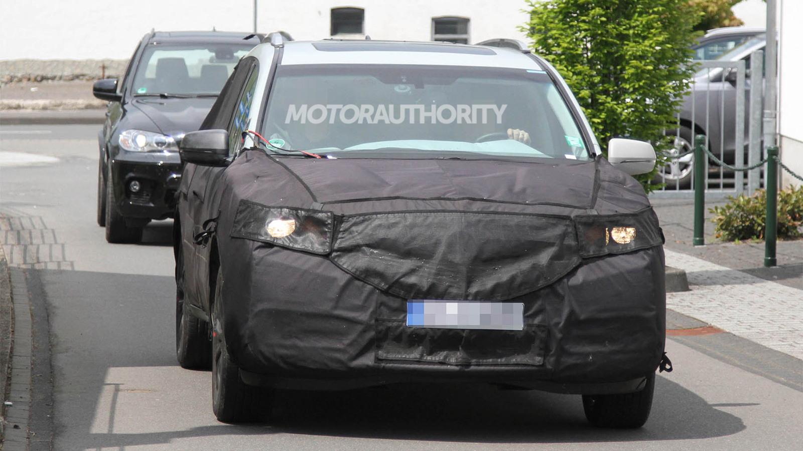 2014 Acura MDX spy shots