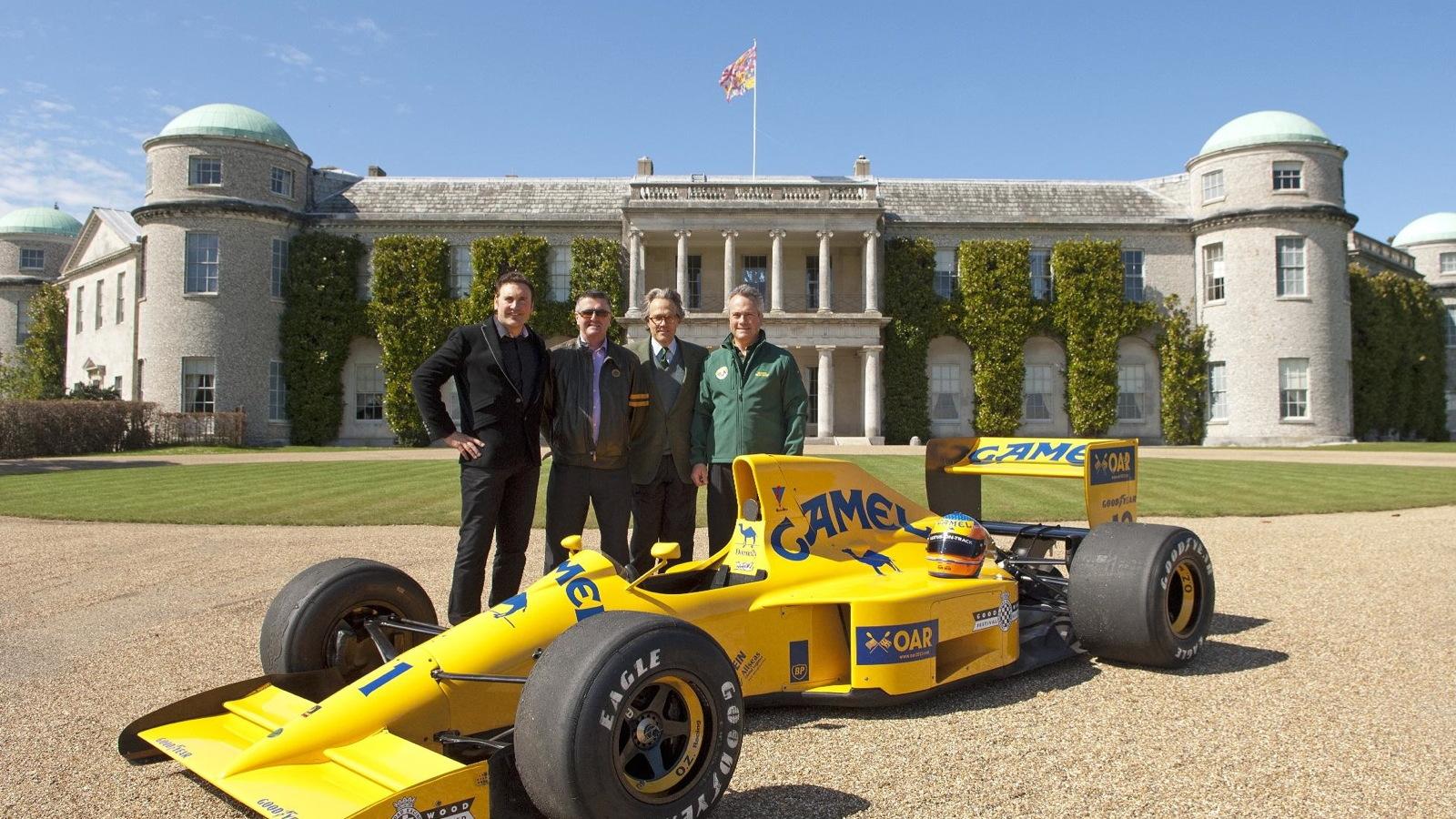 The Lotus Type 102. Image: Paul Melbert