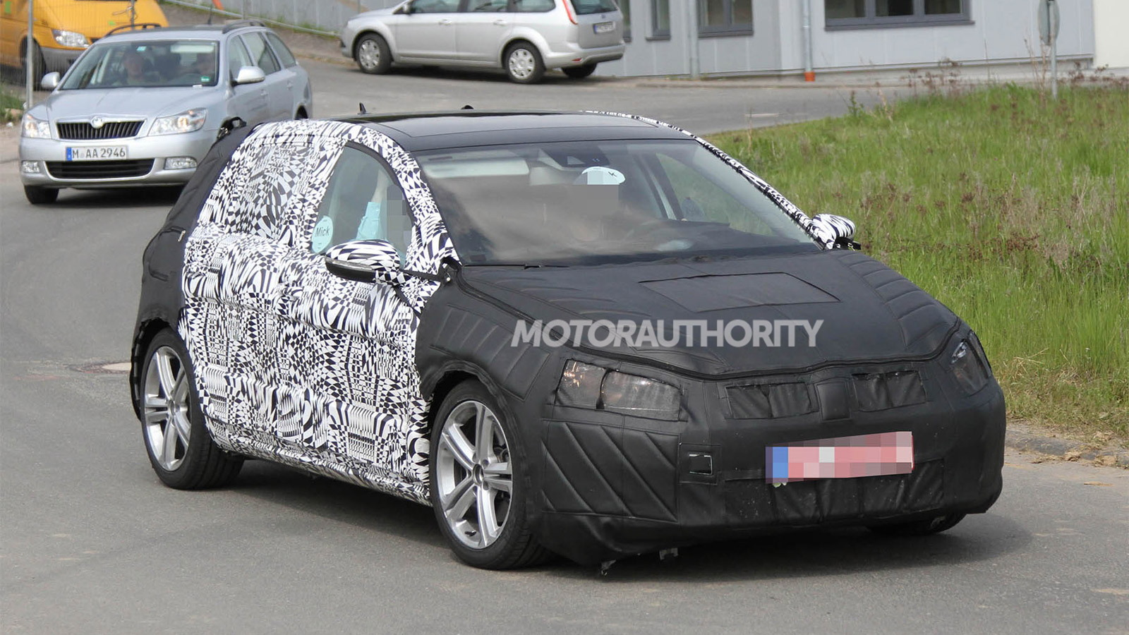 2014 Volkswagen Golf (MkVII) spy shots