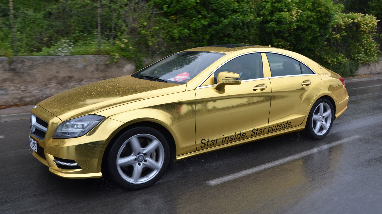 Mercedes-Benz gold shuttle service at the 2012 Cannes Film Festival