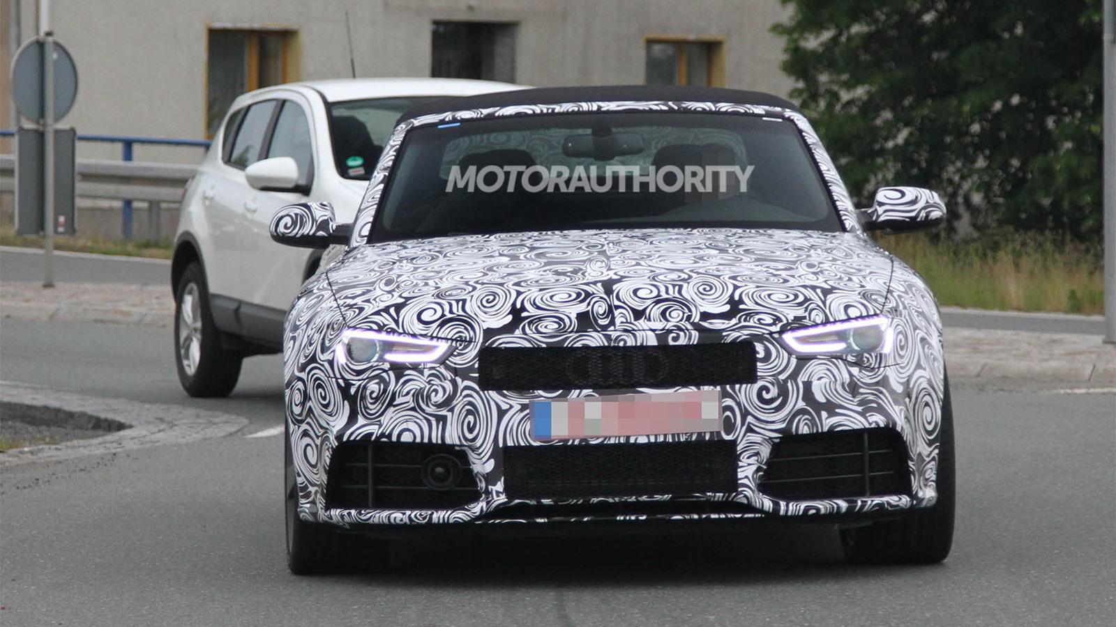 2013 Audi RS 5 Cabrio spy shots