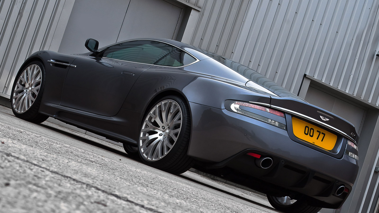 A. Kahn Design styling package for the Aston Martin DBS