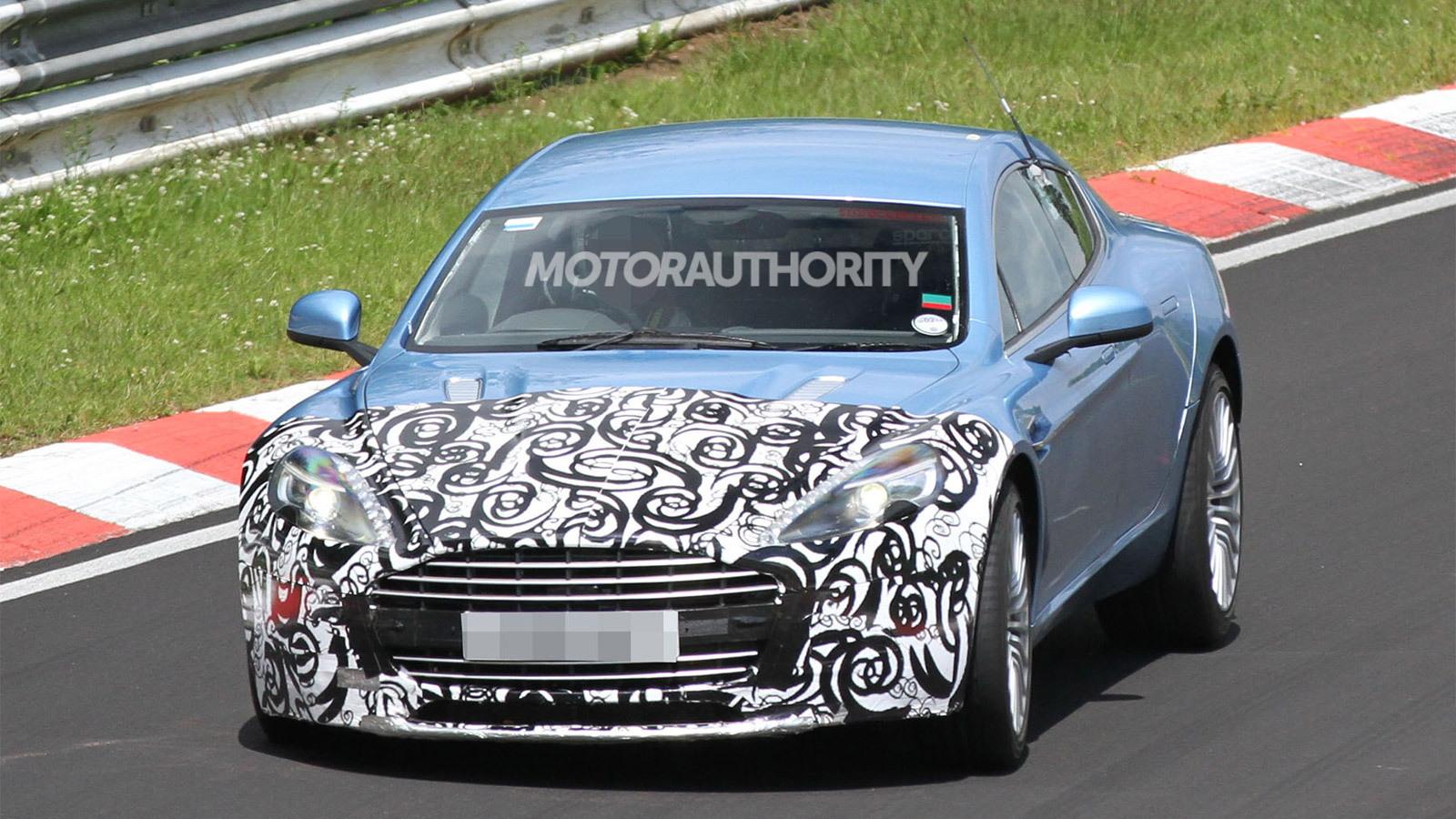 2013 Aston Martin Rapide S spy shots