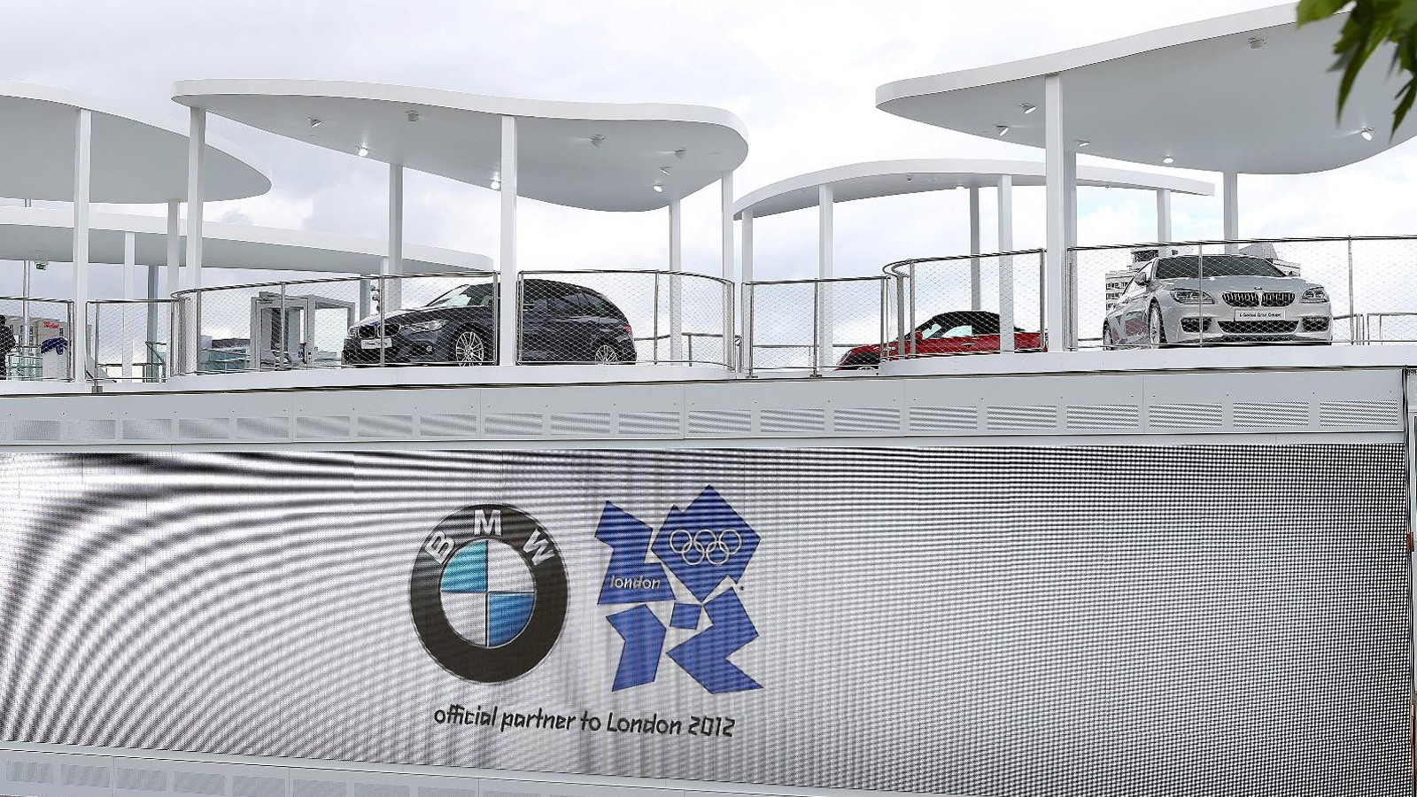 BMW's 2012 London Olympics pavilion