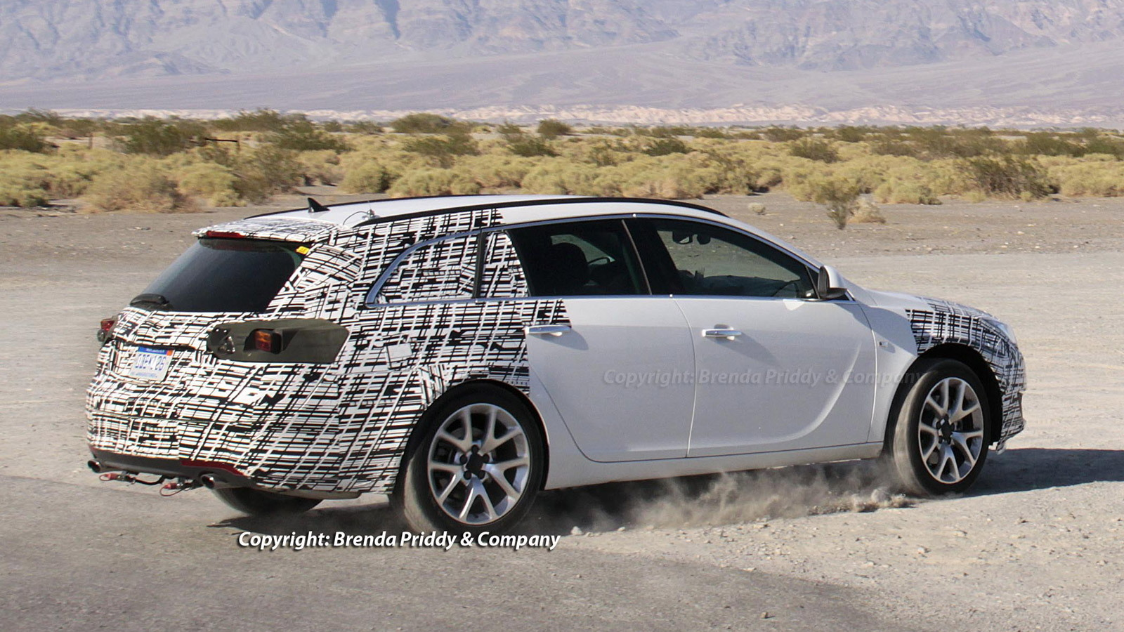 2014 Buick Regal Sport Wagon spy shots