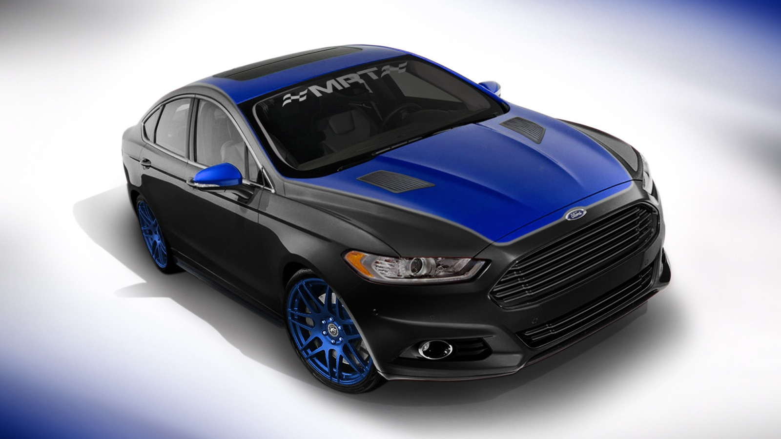 2013 Ford Fusion, built by MRT Performance for SEMA 2012