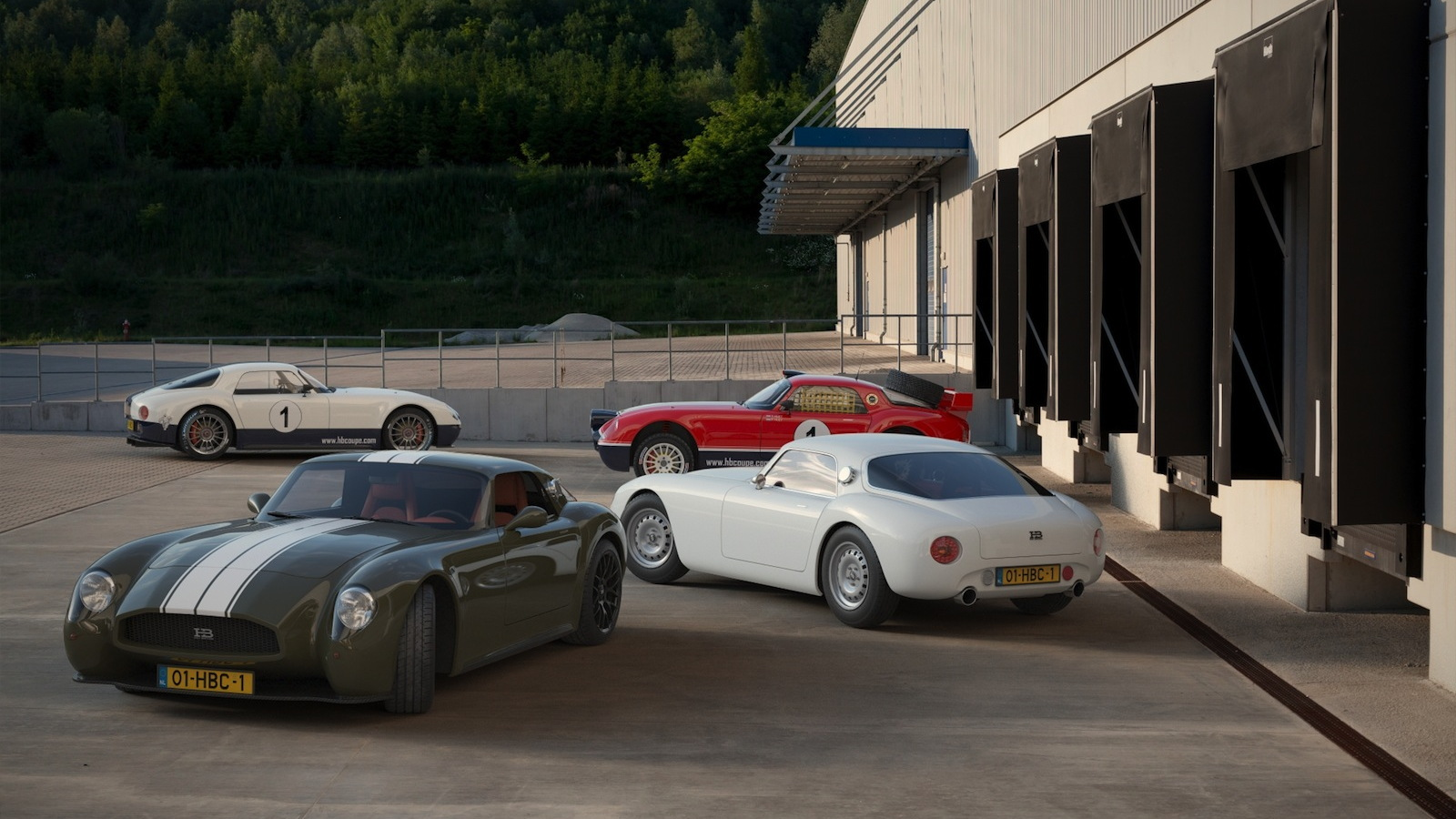 Huet Brothers Coupe prototypes