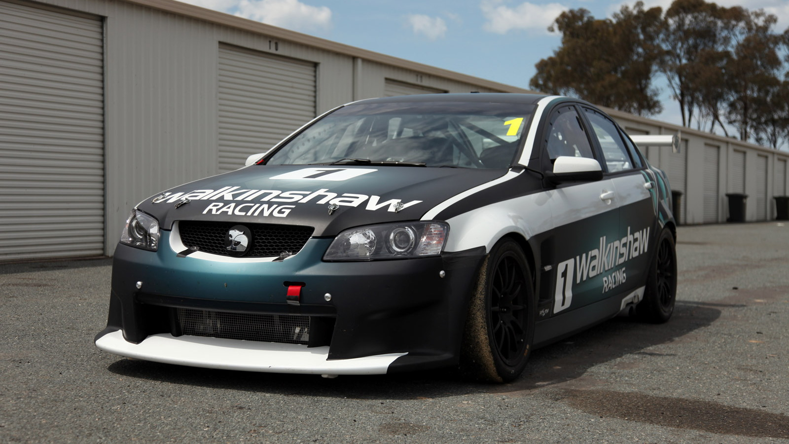 HSV ClubSport R8 race car based on the Holden Commodore