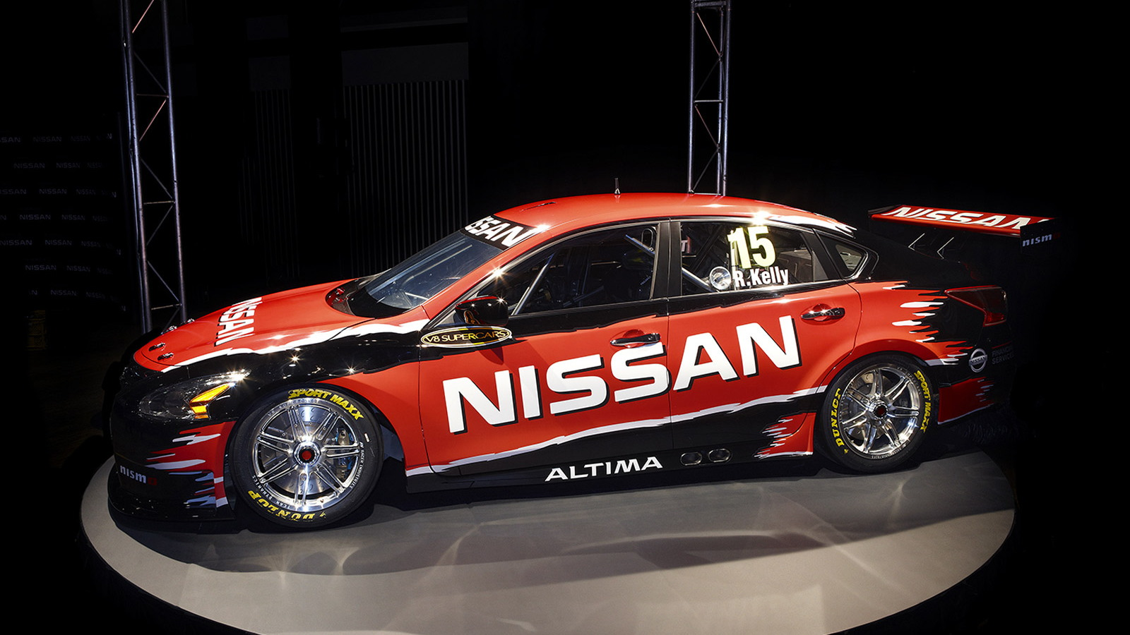 Nissan Altima race car that will compete in the 2013 V8 Supercars season