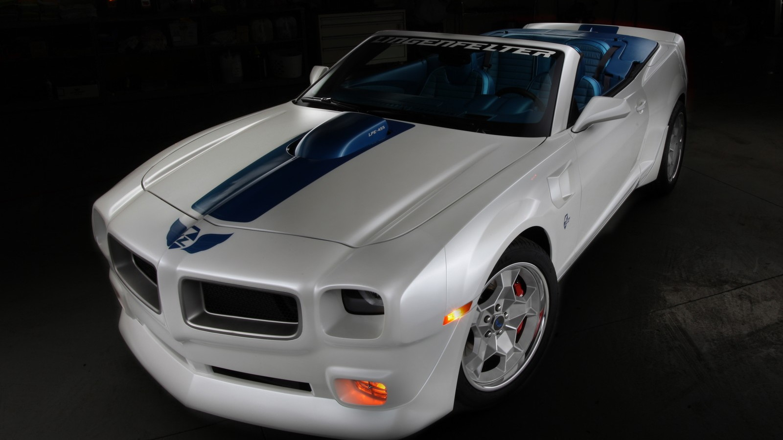 Production-spec Lingenfelter LTA Convertible based on the Chevrolet Camaro