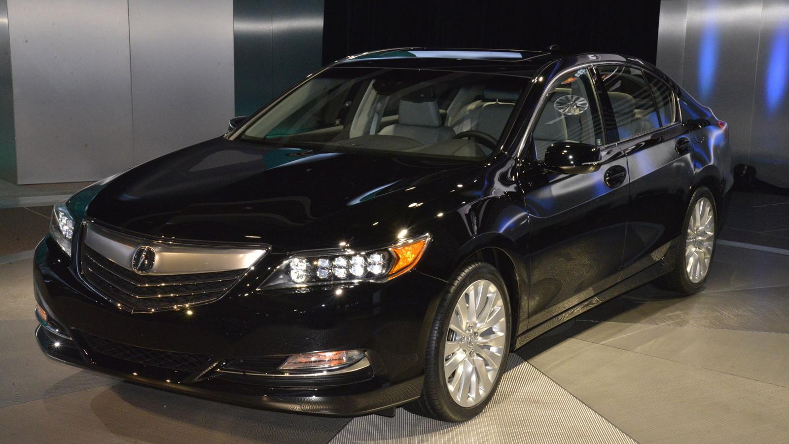 2014 Acura RLX, 2012 Los Angeles Auto Show