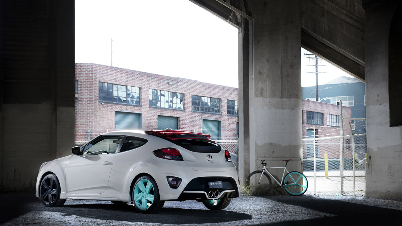 Hyundai Veloster C3 Roll Top concept car