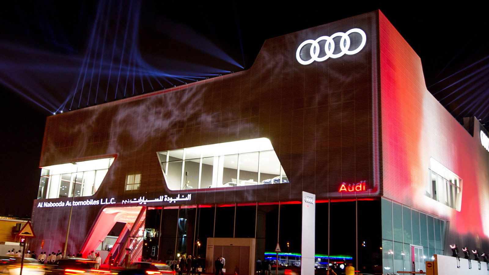 Opening of the Dubai Audi terminal