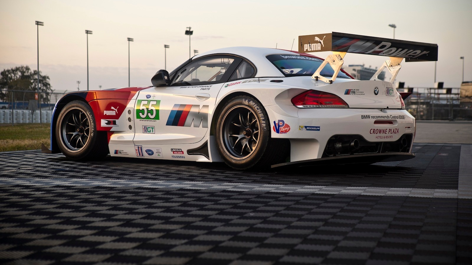 Bobby Rahal Toyota >> BMW Rolls Out Its Z4 GTE Racer: Video