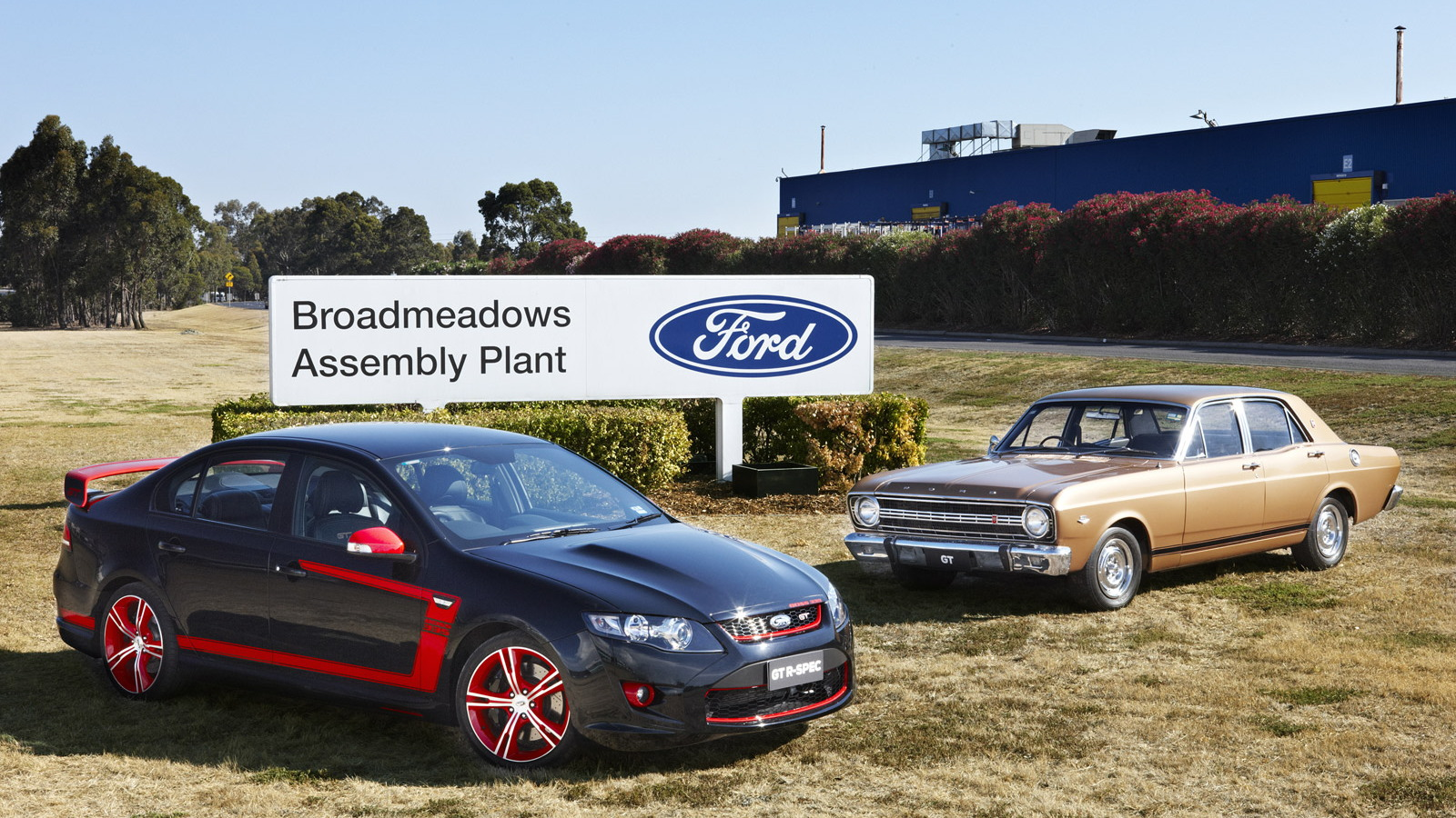 Ford starts production of FPV Falcon sedans at its own plant