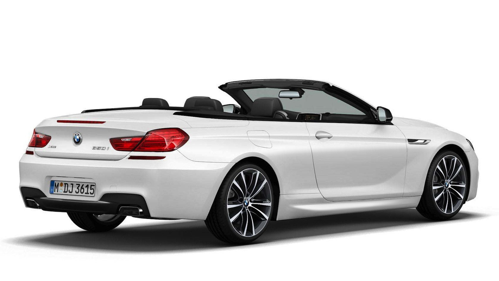 2014 BMW Frozen Brilliant White Edition 6-Series Convertible - image: BMW