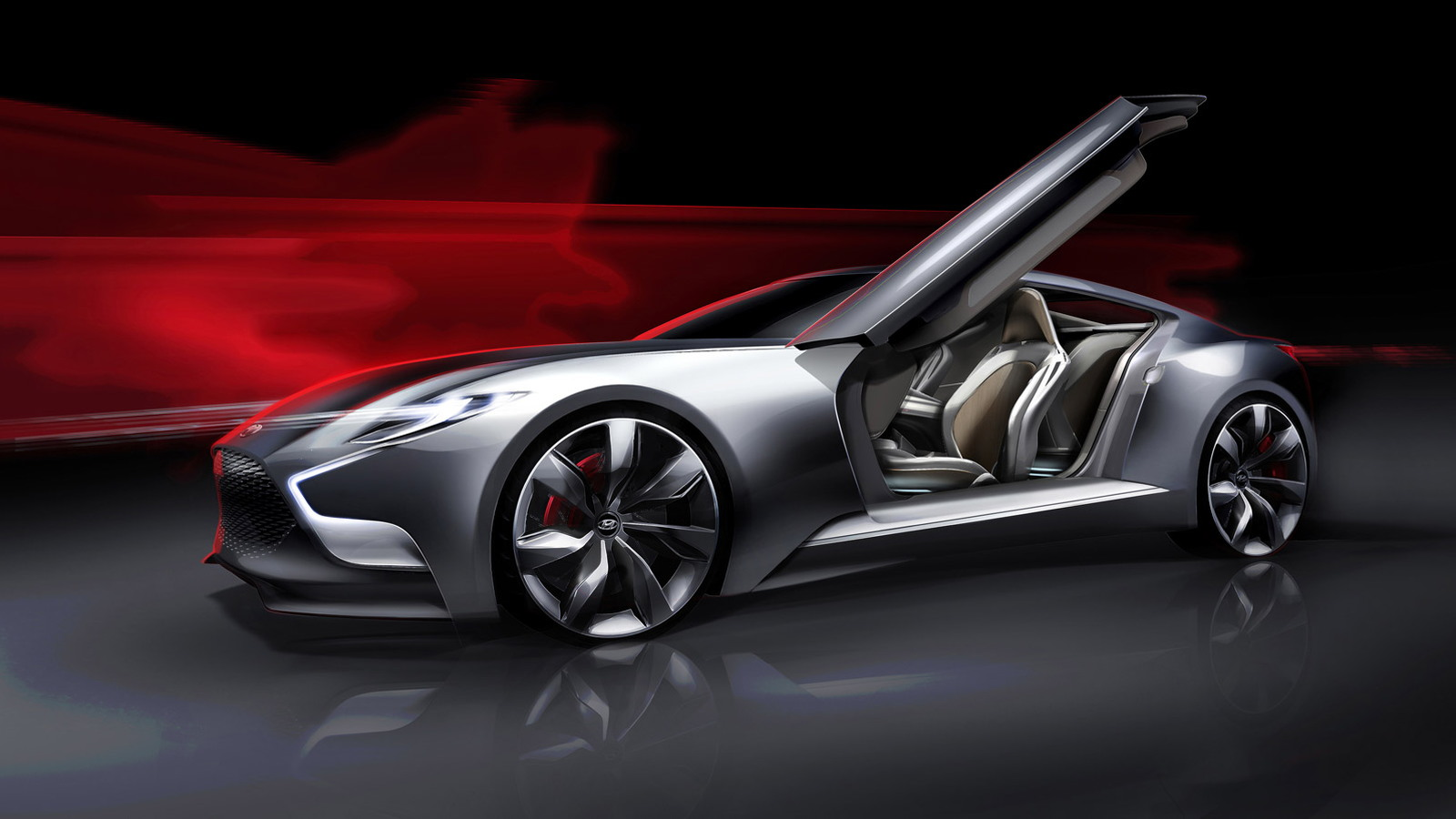 Next-Gen Hyundai Genesis Coupe Previewed By HND-3 Concept
