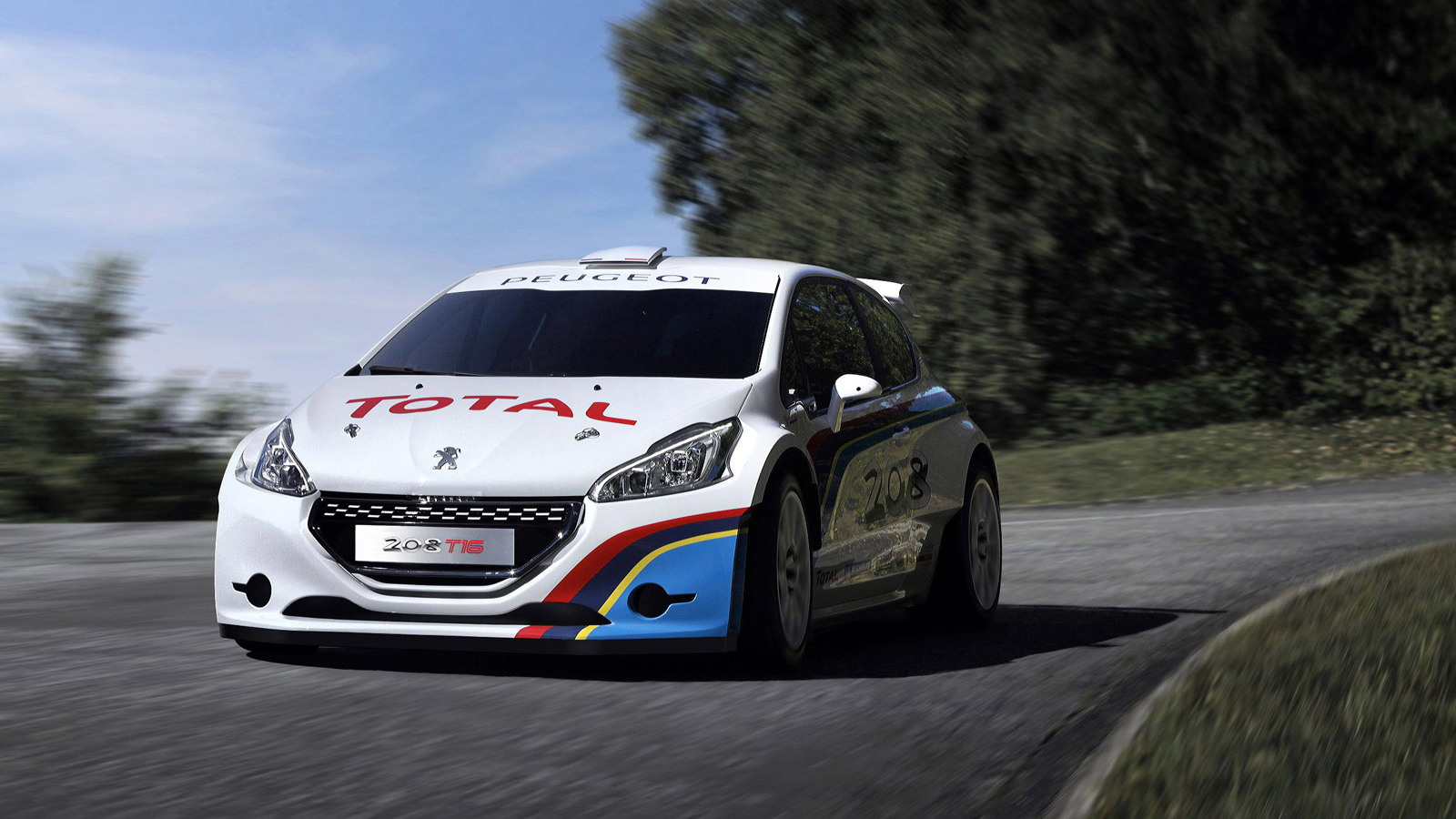 2013 Peugeot 208 T16 Pikes Peak rally car