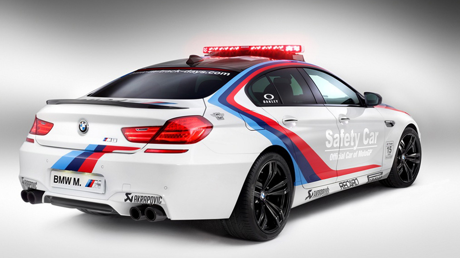 2014 BMW M6 Gran Coupe official safety car for MotoGP