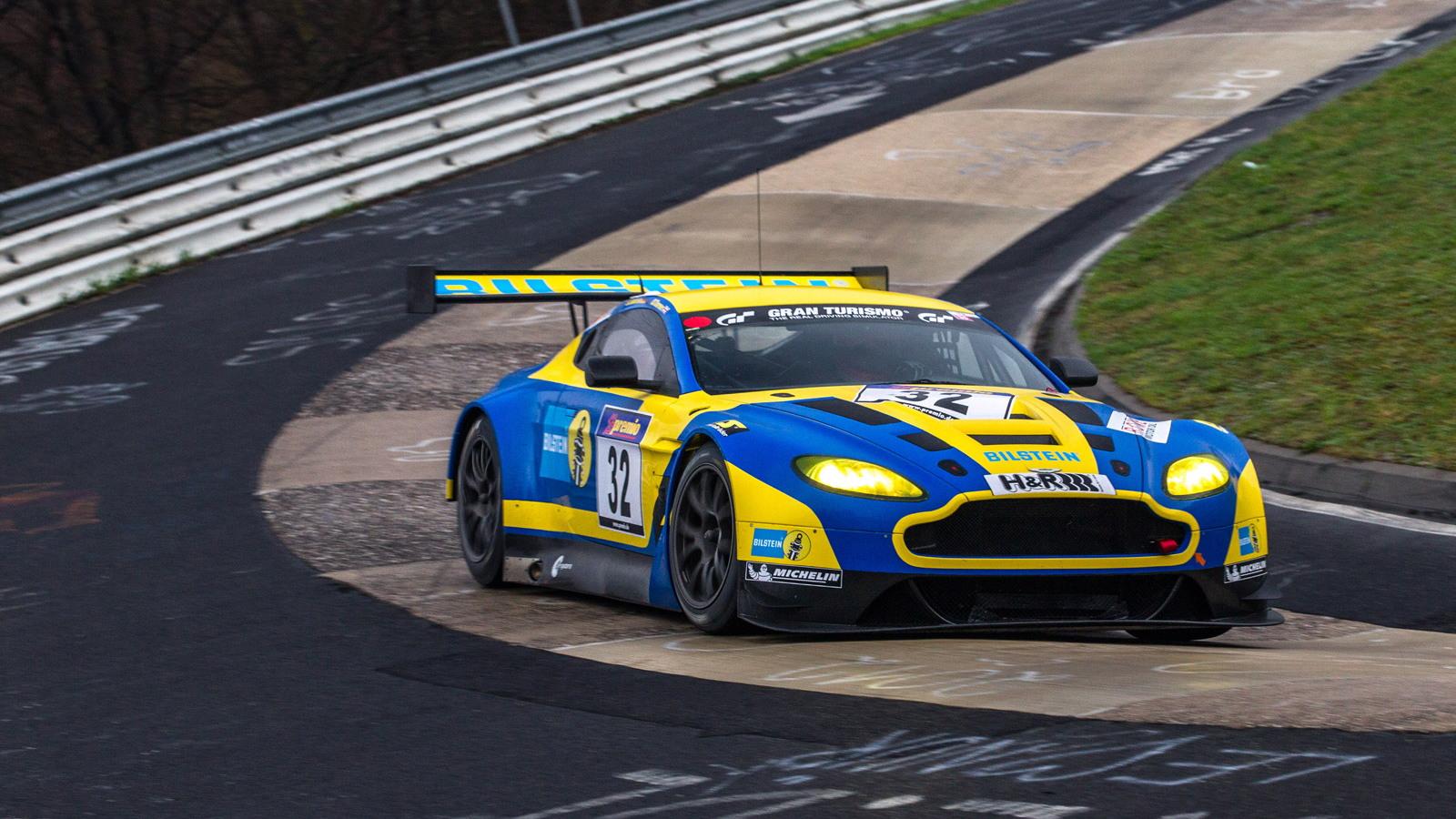 2013 Aston Martin V12 Vantage GT3 race car