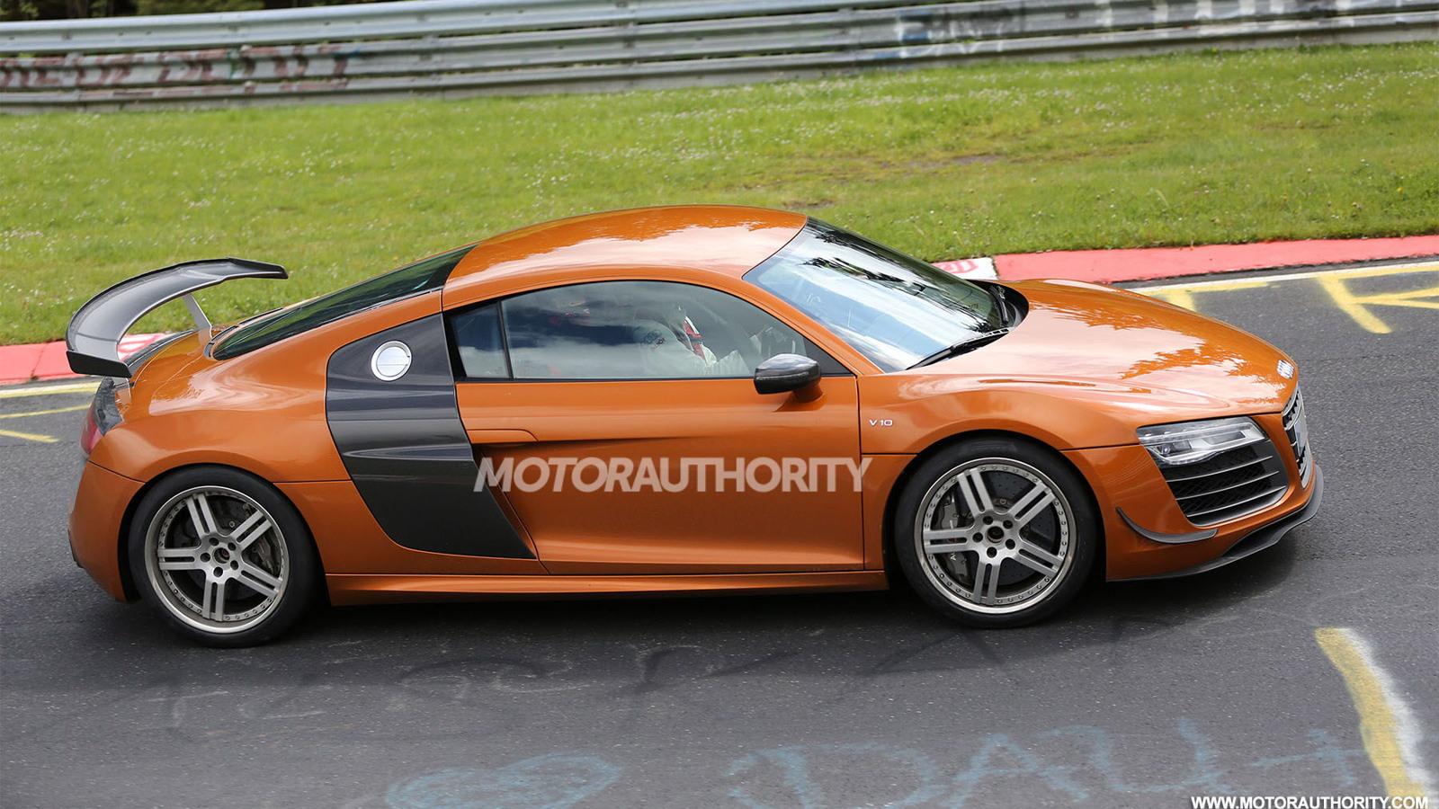 2015 Audi R8 GT Sport spy shots