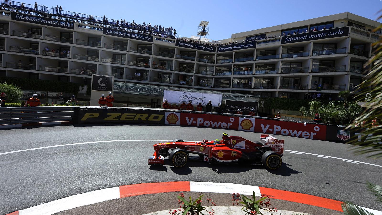 Ferrari at the 2013 Formula One Monaco Grand Prix