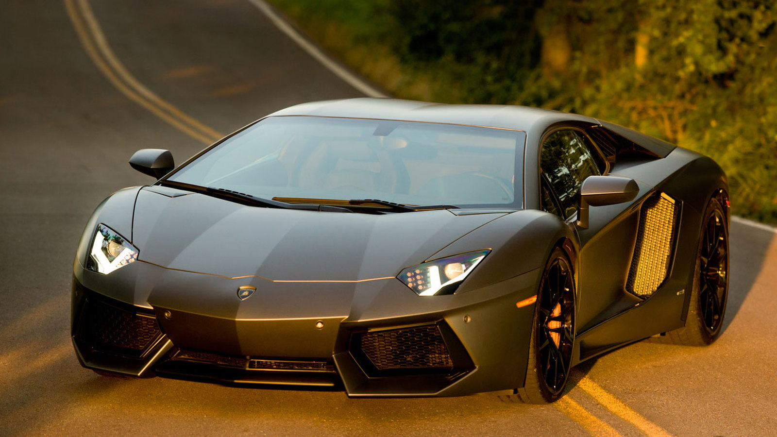Lamborghini Aventador LP 700-4 on the set of Transformers 4 movie