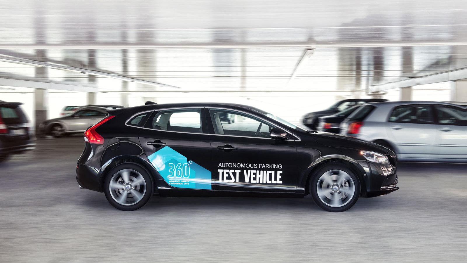 Volvo Autonomous Parking
