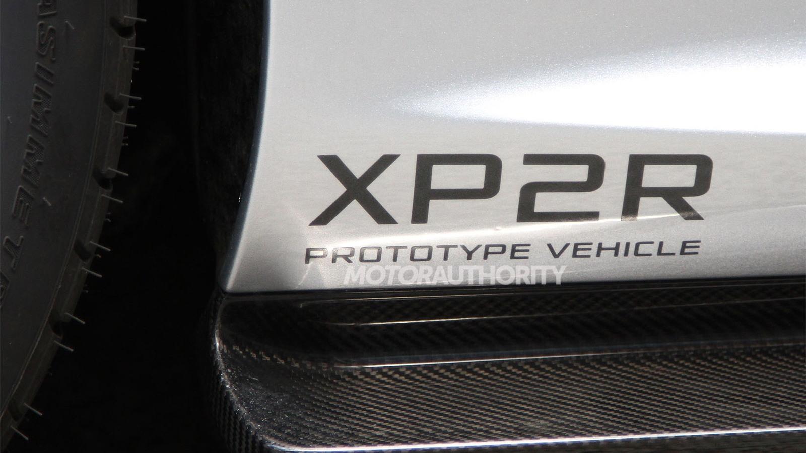 McLaren P1 'XP2R' spy shots