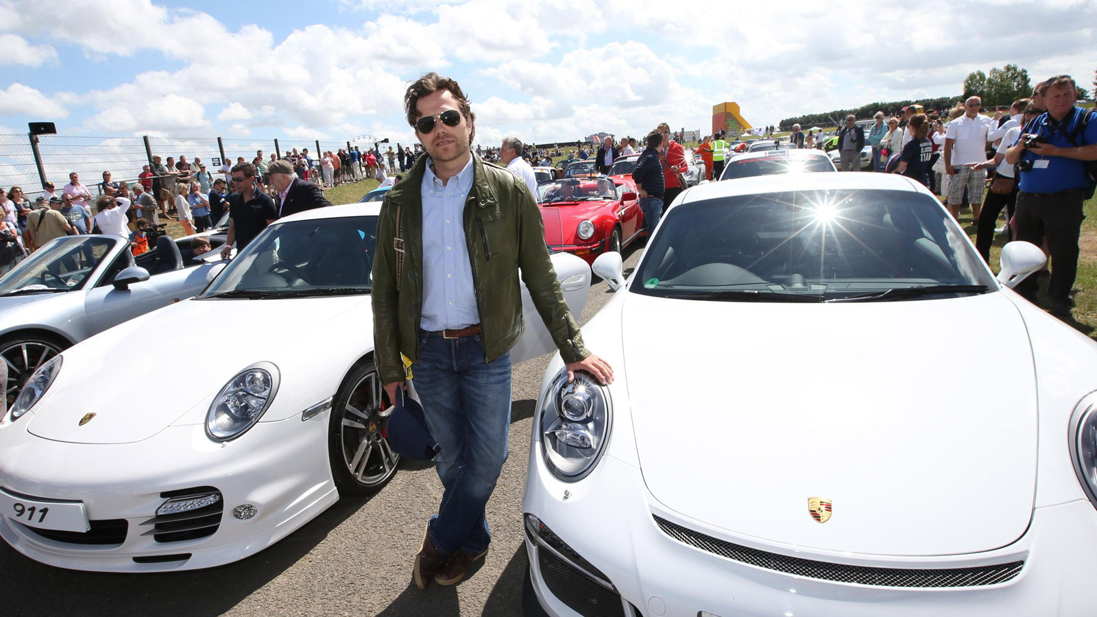 Mark Porsche, son of 911 designer Ferdinand Alexander 'Butzi' Porsche