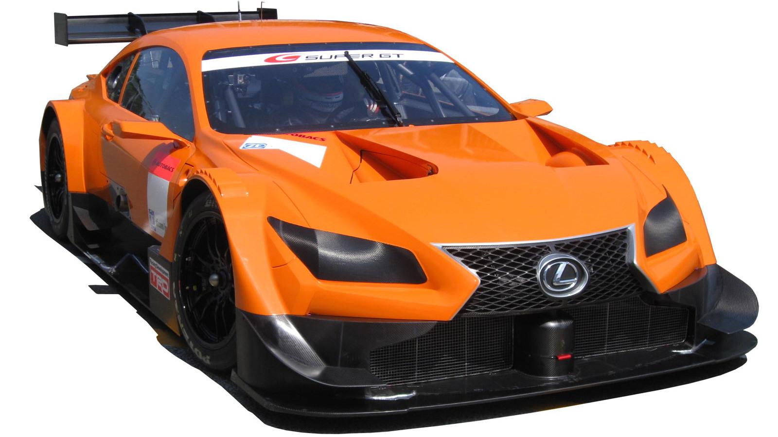 2014 Lexus RC GT500 Super GT race car