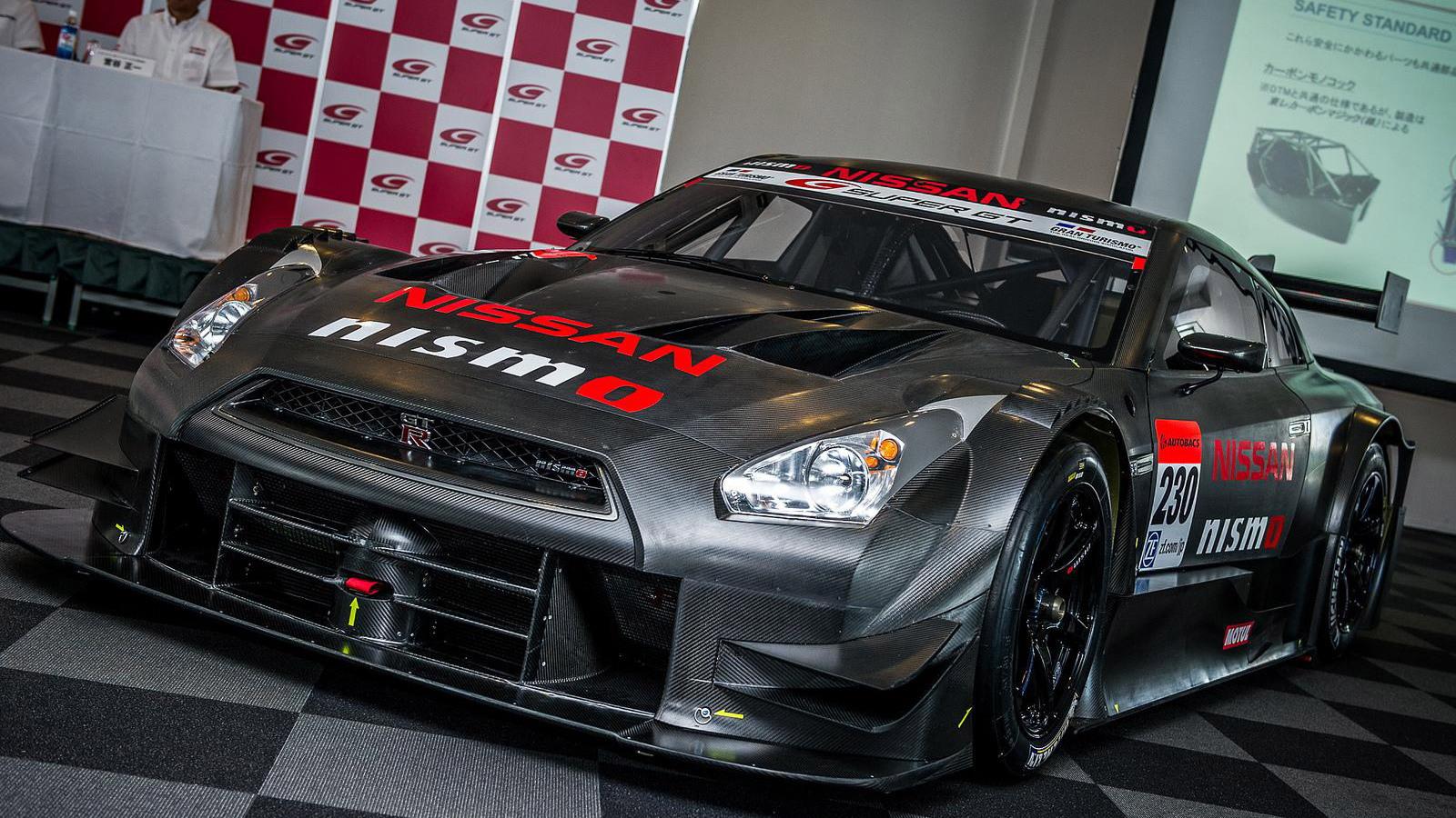 2014 Nissan GT-R NISMO GT500 Super GT race car