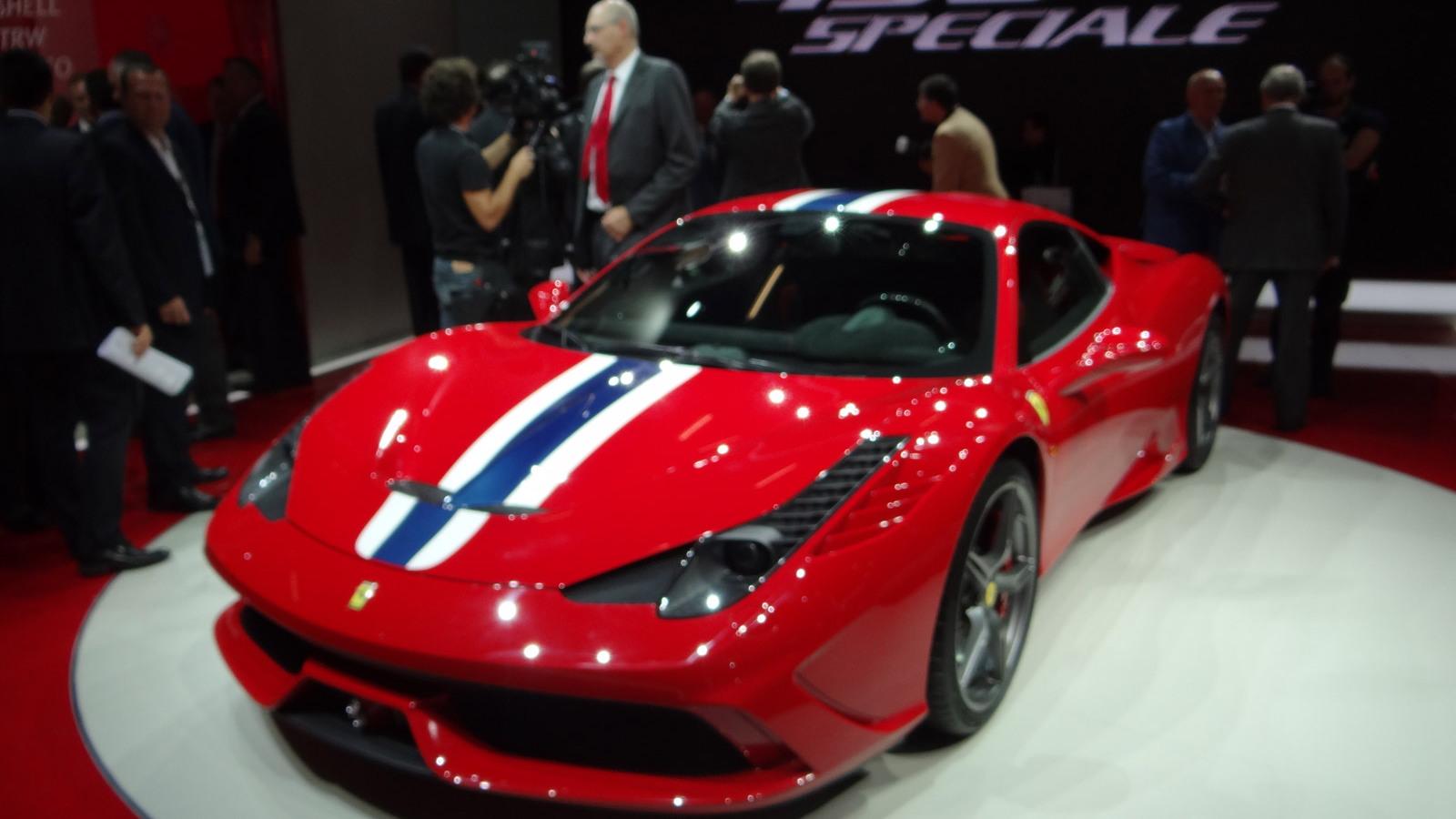Ferrari 458 Speciale, 2013 Frankfurt Auto Show