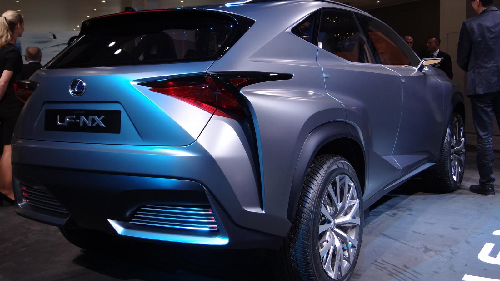 Lexus Lf Nx >> Lexus Lf Nx Concept Live Photo Gallery 2013 Frankfurt Auto Show