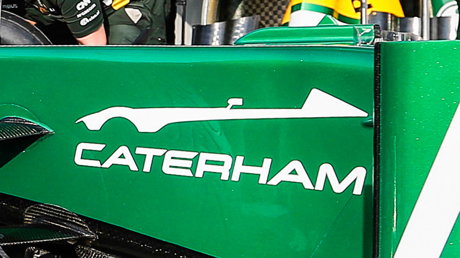 Teaser for 2016 Caterham sports car