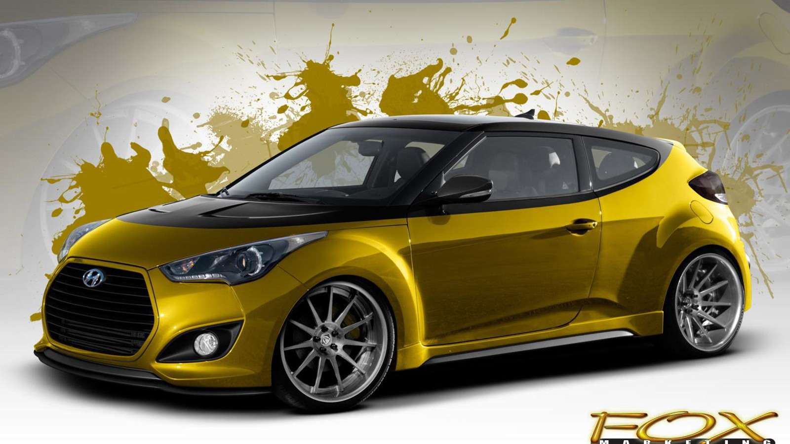2013 Hyundai Veloster Turbo by Fox Marketing