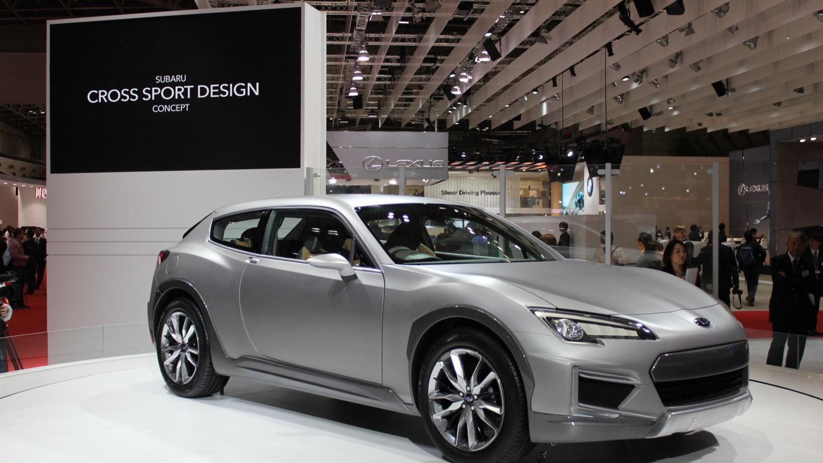 Subaru Cross Sport Design Concept  -  2013 Tokyo Motor Show