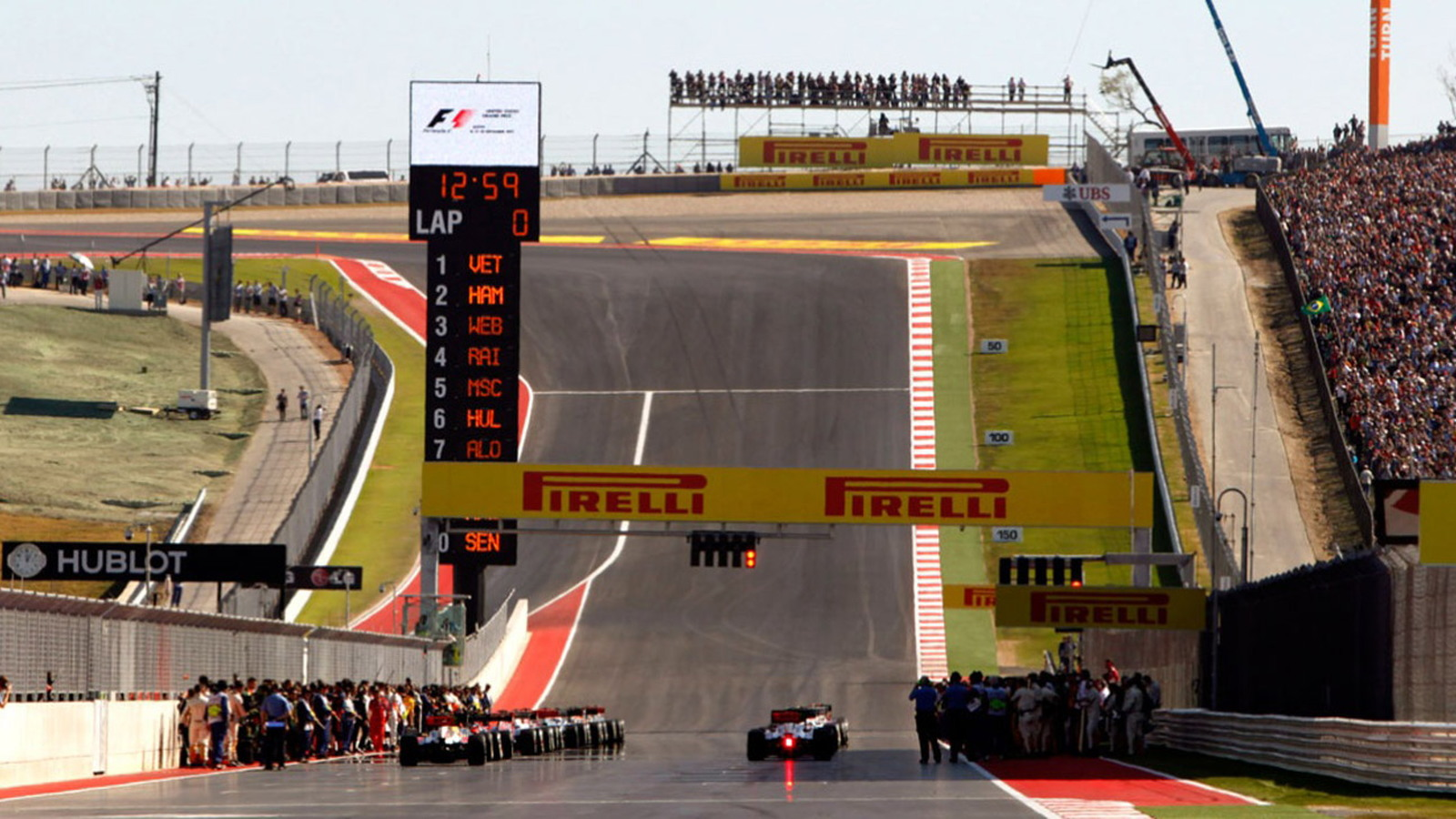 United States Grand Prix at the Circuit of the Americas in Austin, Texas