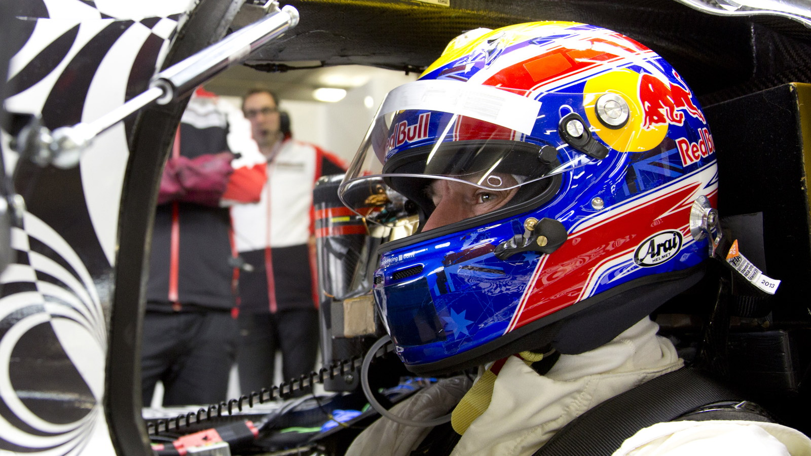 Mark Webber tests Porsche's 2014 LMP1