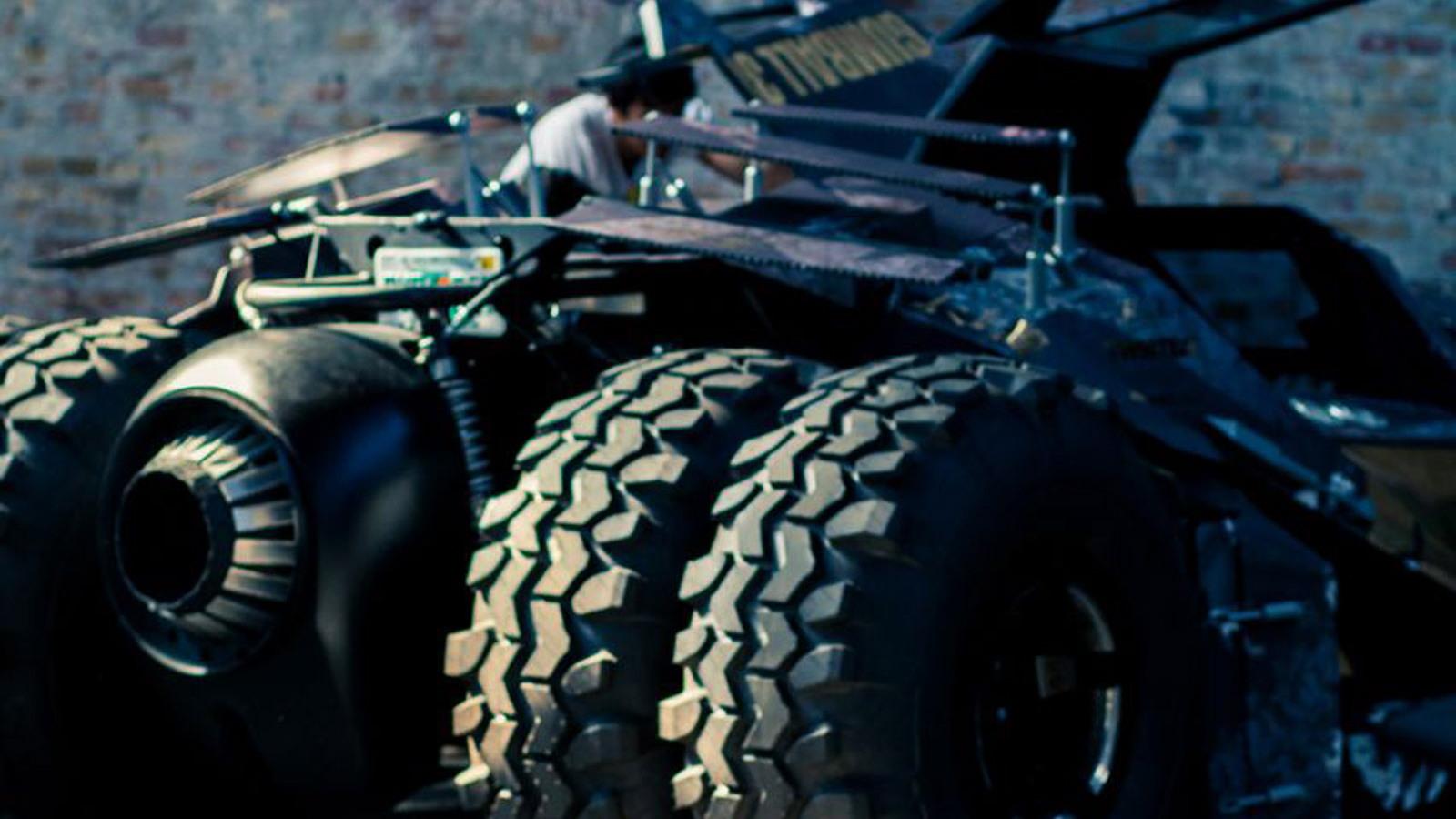 Team Galag Tumbler Batmobile
