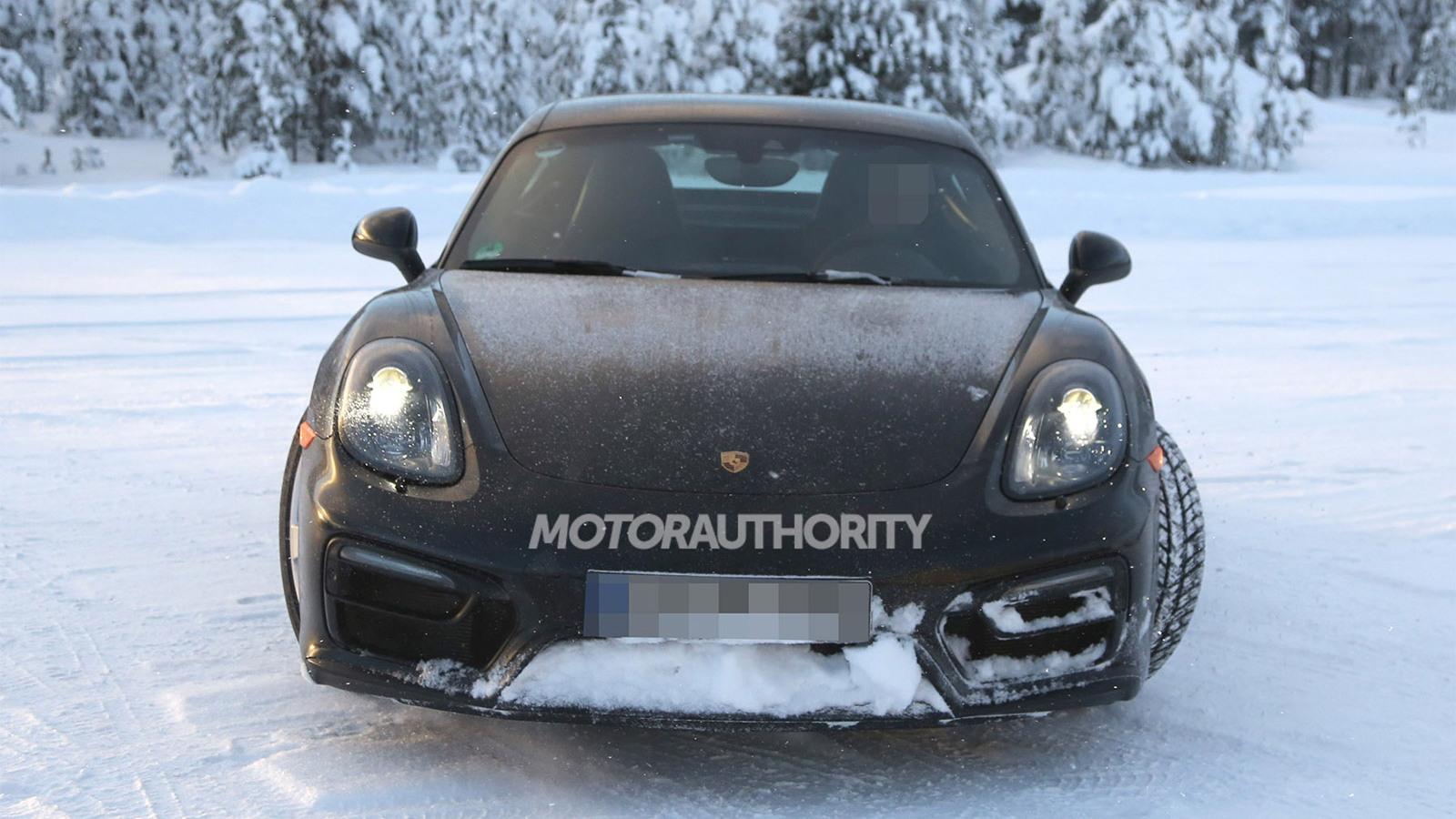 2014 Porsche Cayman GTS spy shots