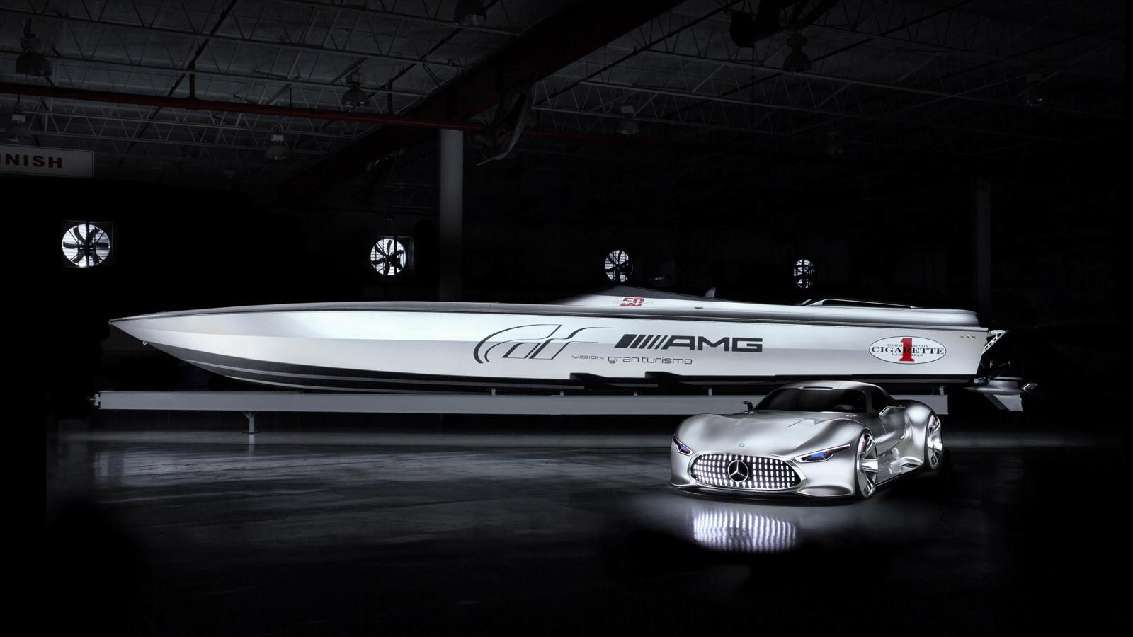 Cigarette Racing 50' Vision GT concept, 2014 Miami Boat Show