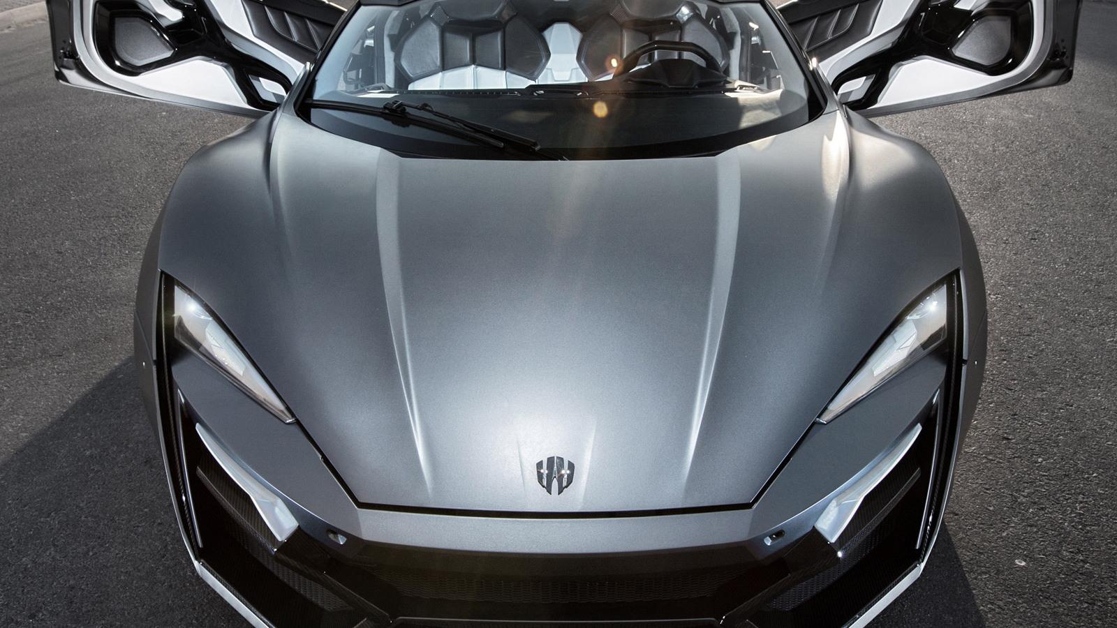 W Motors Lykan Hypersport (Image: James Holm)