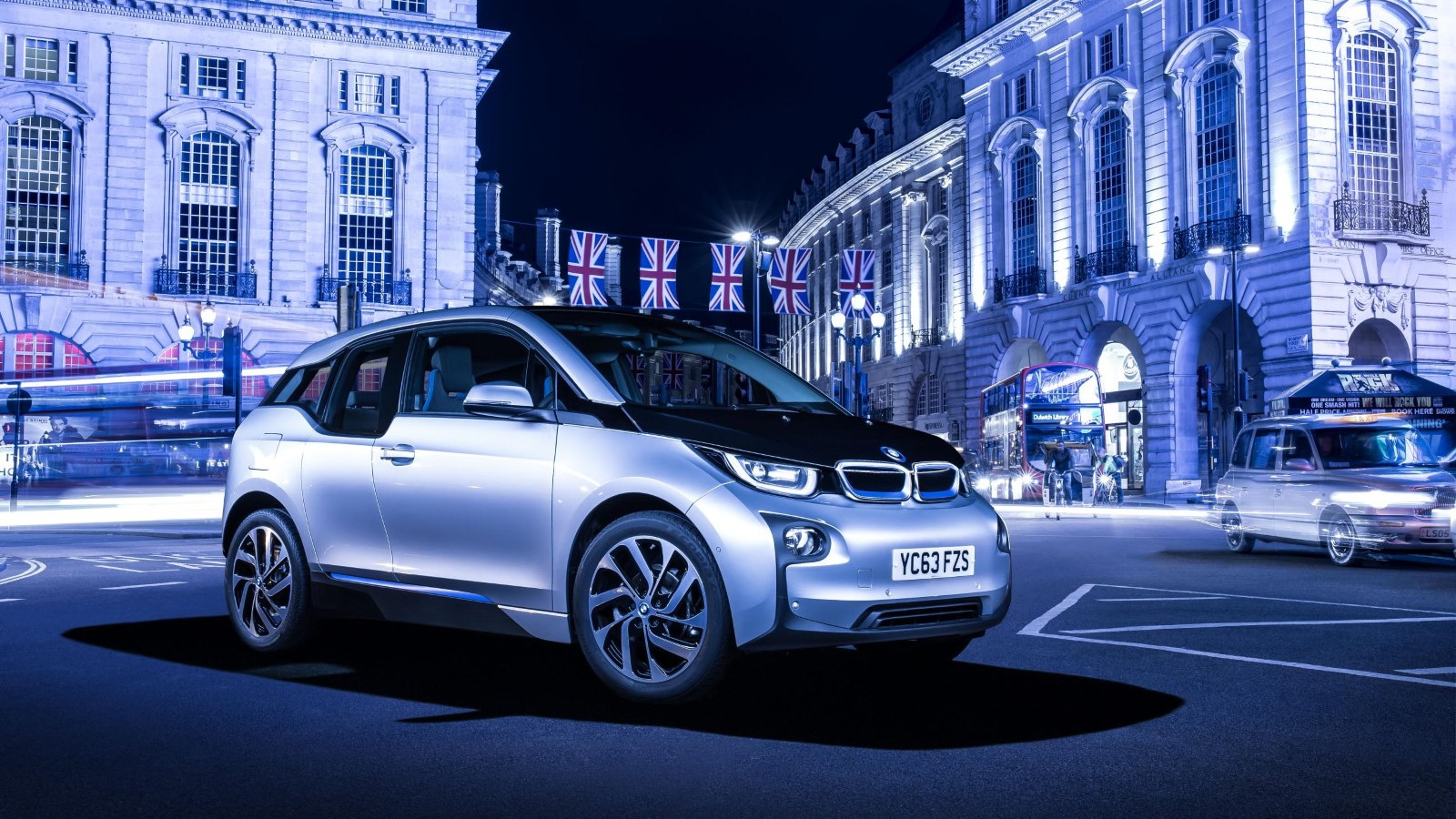 2014 BMW i3 in London