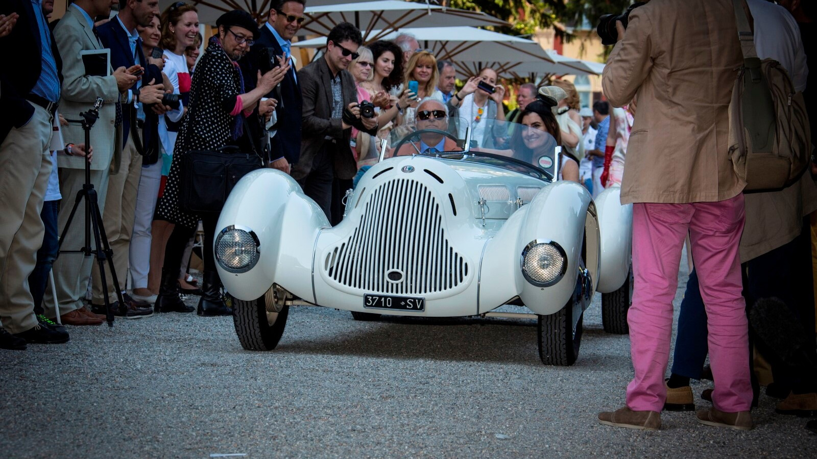 1931 Alfa Romeo 6C 1750 GS at the Concorso d'Eleganza Villa d'Este 2014