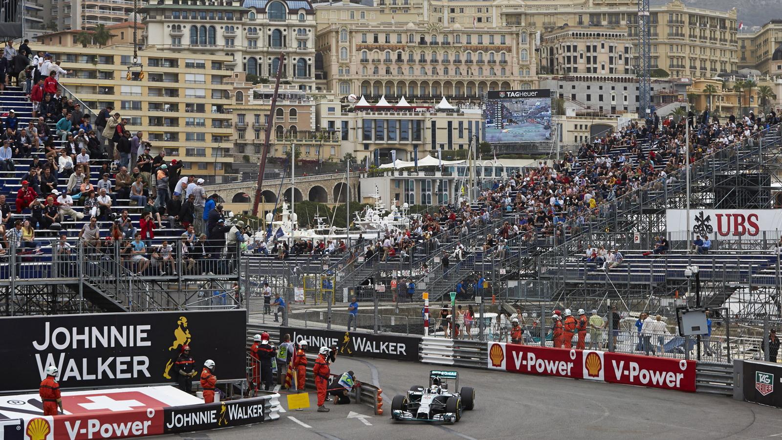 Nico Rosberg at the 2014 Formula One Monaco Grand Prix